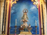 Traditional Cuban church altar
