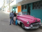 Tour Guide with classic car