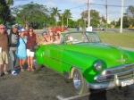 Classic Cuban vintage car