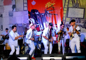 Havana Jazz Festival 2018 band fills stage